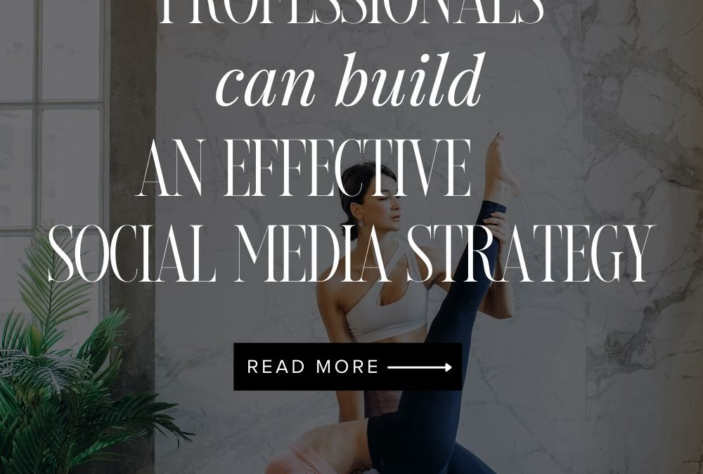 How Fitness Professionals Can Build an Effective Social Media Marketing Strategy